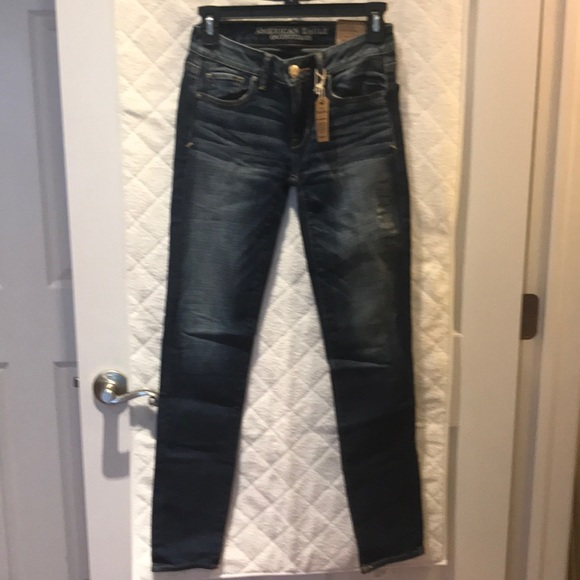 American Eagle Outfitters Denim - American Eagle Skinny Low Rise Jeans
